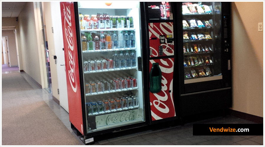 Coke and Snack Vending Machines