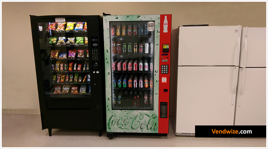 Glassfront and Snack Vending Machines